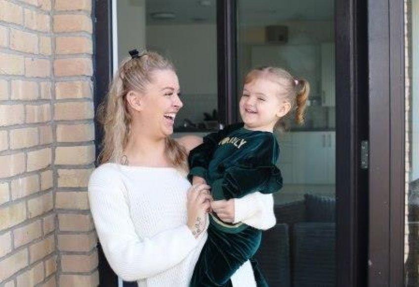 Denise Ackland and daughter Beau