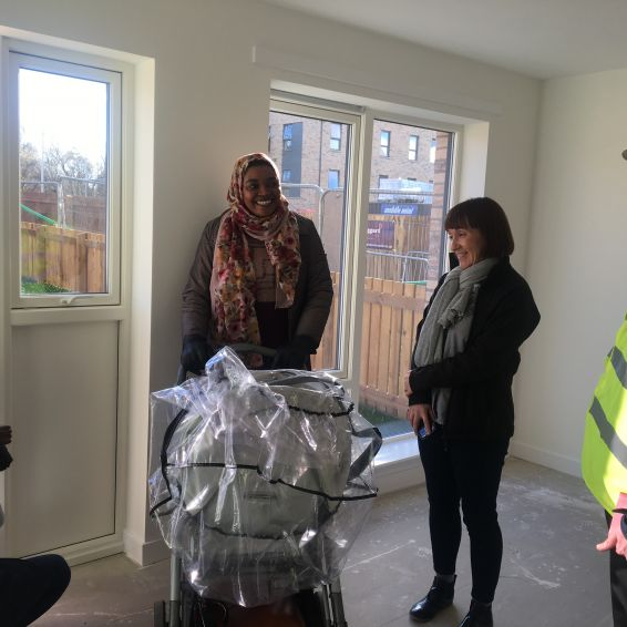 Tenants' joy at new Loretto homes