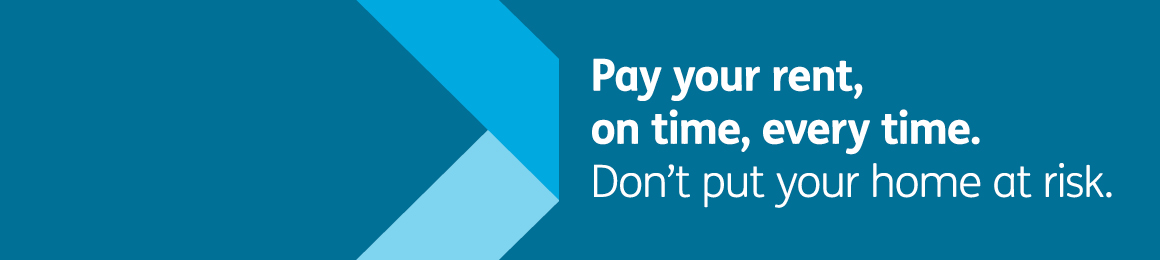 Rent campaign - Pay your rent on time every time carousel Loretto