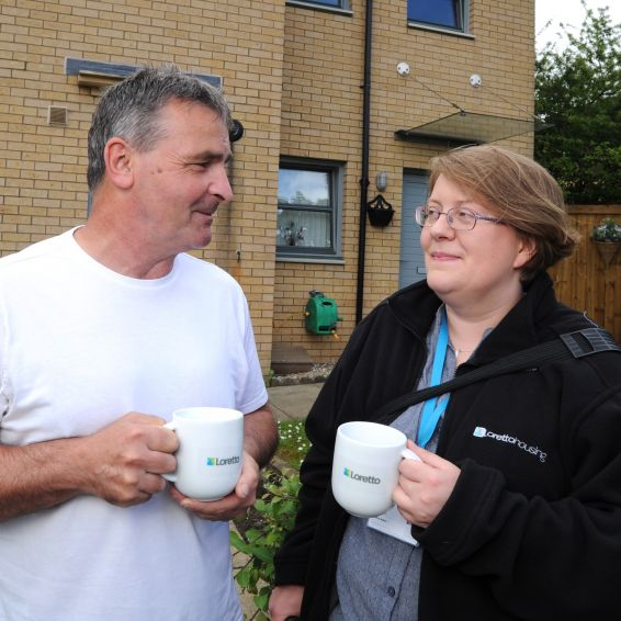 Housing officers are on their patch to help tenants