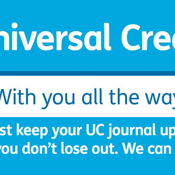 Universal Credit - with you all the way