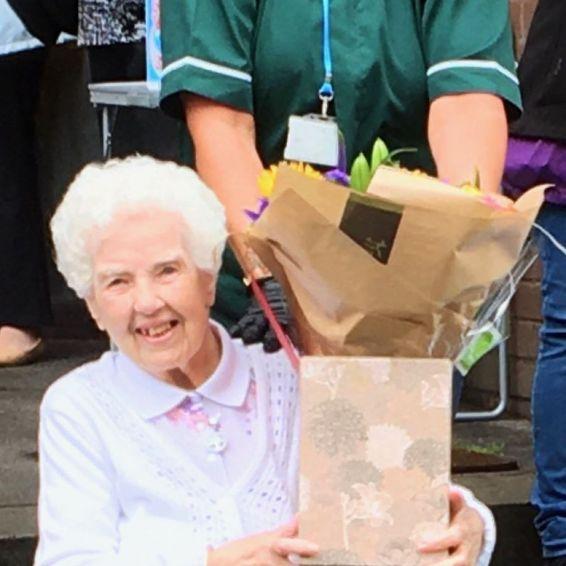 Jean Wilson celebrates her 100th birthday