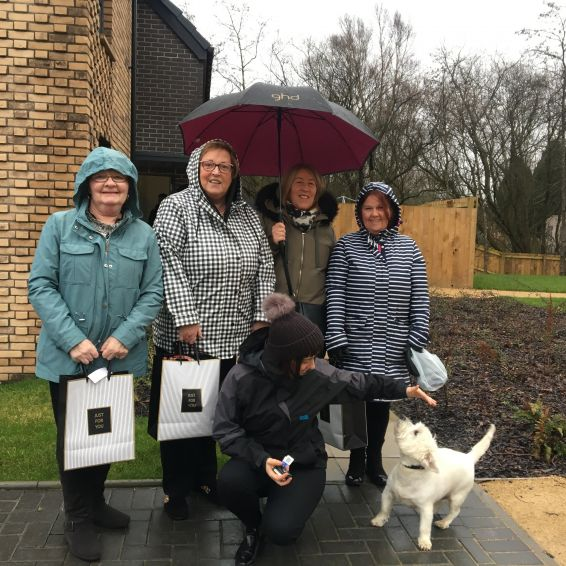 Tenants meet the neighbours at Wallacewell