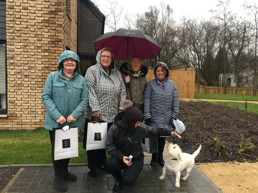 Tenants meet the neighbours at Wallacewell